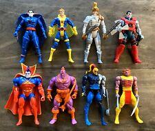 Uncanny X-Men Vintage Toybiz Marvel Figures Lot 90s Mr Sinister Banshee Sunspot