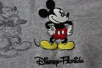 Disney Embroidered Mickey Mouse Artwork Florida TEE T SHIRT XL Extra Large