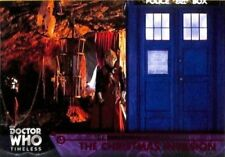 Doctor Who Timeless Blue Parallel card lot of 5 cards numbered to 25