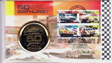 2013 '50 Years of Racing at Bathurst' FDC- Commemorative Medallion only 7500#