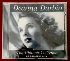 Deanna Durbin The Ultimate Collection - 24 Greatest Hits - New & Sealed