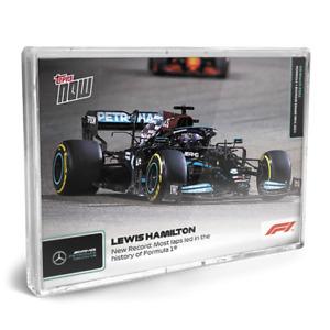 1 2 3 Card Set Pre-sale - Hamilton - Schumacher - Tsunoda Topps Now Formula 1 F1