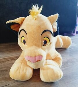 Disney Store Lion King Simba Large Soft Plush Toy. Excellent Condition.