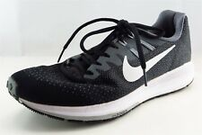 Nike Zoom Structure 20  Running Shoes Black Fabric Women10Medium (B, M)