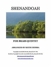 Shenandoah Brass Quintet original arrangement quality publication inventive! New