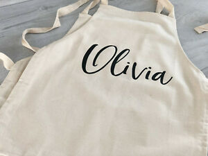 Personalised Kids Apron / Kids Apron with name / Personalised Apron / Kids Apron