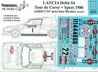 """Transkit 1//24 BMW M3 Gr.A /""""MILK/"""" RALLYE 1000 LAGHI 1988 Renaissance TK24//437"""