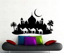 Camel Caravan Wall Decal Arabic Desert Vinyl Sticker Home Art Decor Mural 306xx