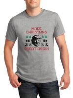 Make Christmas Great Again Shirt Donald Trump President Pro Republican Gift Tee