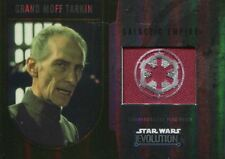 Star Wars Evolution 2016 Gold Patch Card [25] Grand Moff Tarkin - Galactic Empi