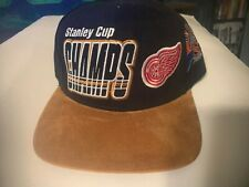 1997 Stanley Cup Champs Snap Back Cap Red Wings Starter The Right Hat