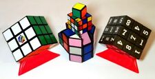 Original Rubik's Cube, 1x1x1, Baril Sudoku Porte-clés rare tordu Puzzles 7 objets!