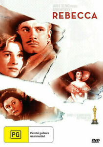 REBECCA DVD 1940 NEW Region 4 Laurence Olivier, Joan Fontaine ALFRED HITCHCOCK