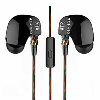 KZ Ear-Hook Earbuds HiFi Stereo Earphone Wired Bass Headphone Sport Headset Mic