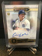 Casey Mize 2021 Topps Five Star Auto Autograph FSA-CMN Rookie Detroit Tigers