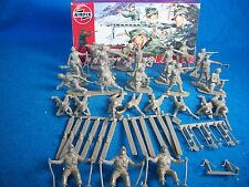 AIRFIX WWII German Mountain Troops Toy Soldiers (54MM) complete boxed set