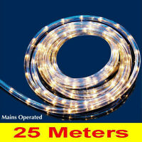 Christmas Lights Xmas Party/Wedding Flexible Indoor Outdoor Rope Light 25 Meters