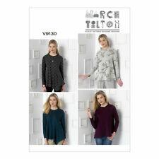 Vogue Sewing Pattern 9130 Pullover Top L-XXL 16-26 Ladies March Tilton UNCUT