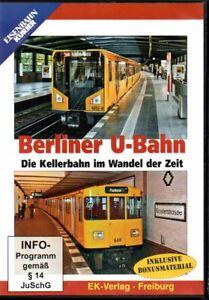 DVD Eisenbahn Kurier: Berliner U-Bahn im Wandel der Zeit / 58 Min + 60 Min Bonus