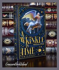 Wrinkle in Time Trilogy by Madeline L'Engle New Sealed Leather Bound Collectible