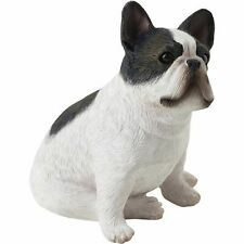 Sandicast SS02301 Small Size Brindle French Bulldog Sculpture, Sitting - Dog