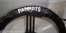 NFL MASSAGE STEERING WHEEL COVER NEW ENGLAND PATRIOTS