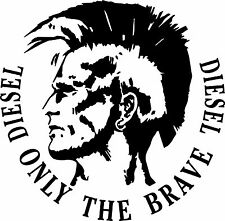 Sticker Diesel 100 Only For the Brave - 58x57 cm