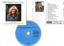 """DOLLY PARTON """"Love Songs"""" (CD) Jolene,Here You Come Again... 1999"""