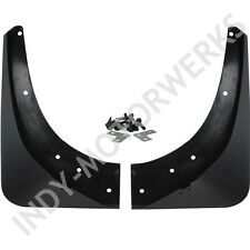 C4 84-90 CORVETTE FRONT ALTEC FENDER GUARDS BOTH LEFT AND RIGHT SIDES MUD FLAPS