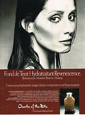PUBLICITE ADVERTISING  1980   CHARLES OF THE RITZ   cosmétiques