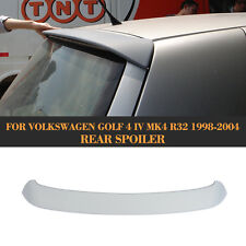 Rear Roof Spoilers Wings Lip Fit for VW Volkswagen Golf 4 Golf IV R32 1998-2004