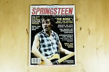 A Tribute To Springsteen (1985) Volume Number 1 Bruce Springsteen Memorabilia