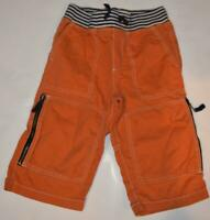Mini Boden Boys Orange Technos Shorts 6