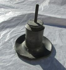 Antique 19th century Pewter Whale Oil Hand Lamp Light