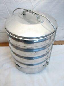 Vintage Buckeye Aluminum Camping Mess Kit Set Pan Dishes Picnic Pan RV