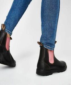 Blundstone 1377 Women's Sizing (W/ Pale Pink Elastic, Slip Resistant, Lthr)
