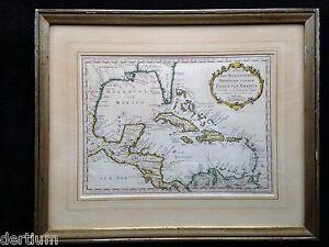 Karte von dem Mexicanischen Meerbusen und dem Inseln von America -1754