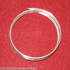 9999 Pure Silver 10 Gauge Wire - 72 inches (6 feet) - Best Wire for Colloidal