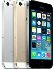 Apple iPhone 5S - Unlocked - 16GB 32GB 64GB - Gold Gray Silver - Smartphone