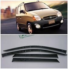 For Hyundai Atos Prime 1999-2008 Window Side Visors Rain Guard Vent Deflectors