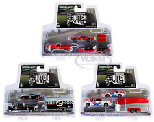 """RACING HITCH & TOW"" SERIES 2, SET OF 3 PCS 1/64 DIECAST GREENLIGHT 31090-A-B-C"