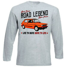 Fiat 127 Sport - GREY LONG SLEEVED TSHIRT- ALL SIZES IN STOCK