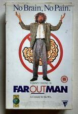 Far Out Man RARE VHS/SUR 1992 Tommy Chong Rae Dawn Chong Michael Winslow COMEDY