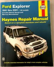 1991-2005 Ford Explorer Mazda Navajo /& Mercury Mountaineer Haynes Manual
