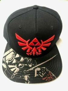 NINTENDO LEGEND of ZELDA Skyward Sword Baseball Trucker Black CAP Hat