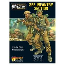 Bolt Action WWII BEF INFANTRY SECTION metal Warlord Games
