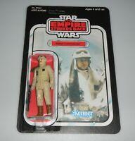 *RECARDED* Star Wars ESB Rebel Commander Figure Complete Sealed CUSTOM Card Back