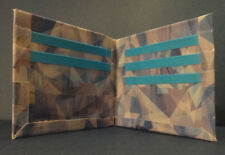Handmade Duct Tape Wallet With Stained Glass