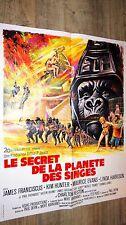 LE SECRET DE LA PLANETE DES SINGES !   affiche cinema 1970 grinsson