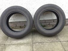 PAIR OF GOODYEAR EFFICIENT GRIP TYRES   235/65 R 17 - USED